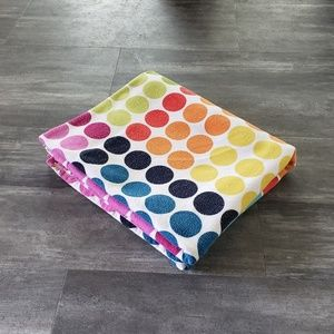 Colorful Checkers Plush Blanket